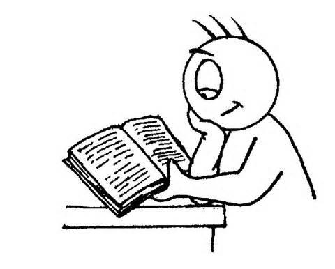 幼儿园阅读区看书步骤图简笔画